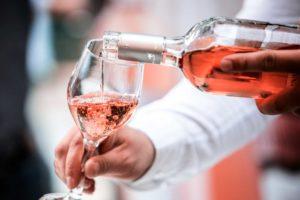 Rosé víno
