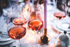 Rosé vína